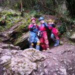 Family caving, Goatchurch, the Mendips
