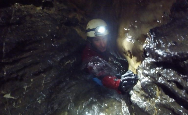 Adventure Caving, Swildon's Hole, the Mendips