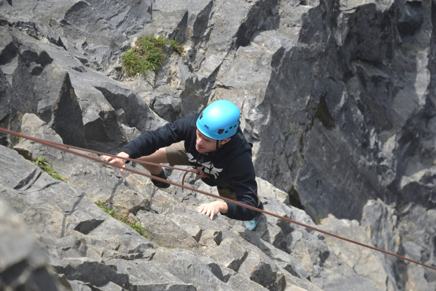 Outdoor Climbing in the Mendips