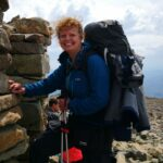 Mountain adventure, Scafell Pike, the Lake District